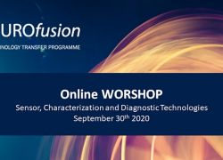 """Online workshop on """"Sensors, Characterization and Diagnostic Technologies"""""""