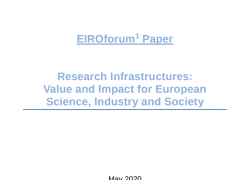 Two recent policy papers, from ESFRI and EIROforum, emphasize the need for a strong eco-system of Research Infrastructures